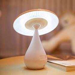 蘑菇净化器台灯