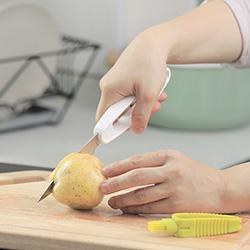 不锈钢2合1蔬果刀