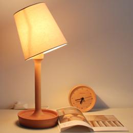 榉木盘子台灯